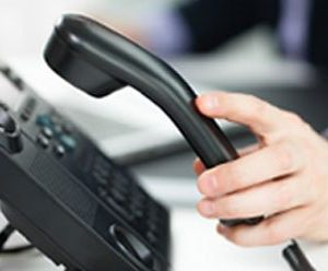 Land-line Phone Clocking